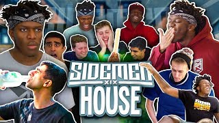 THE BEST MOMENTS IN THE SIDEMEN HOUSE!