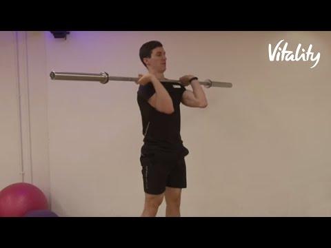 Barbell Workout  | Vitality Fitness | Vitality UK