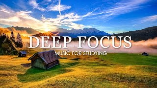 Deep Focus Music To Improve Concentration - 12 Hours of Ambient Study Music to Concentrate #75