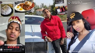 Kennedy Cymone Makes BreakFast for DDG B-Day + DDG Buys (Rolls Royce Wraith)