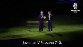 Del Piero & Boniperti - Two stars at Juventus Stadium