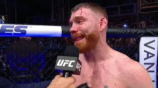 UFC 242: Paul Felder Octagon Interview