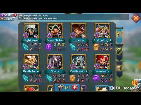 Wall Defense Research, Equipments And Heros