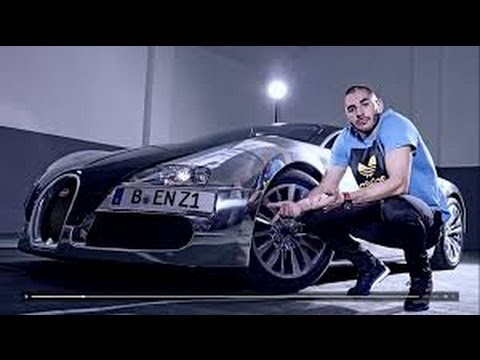 benzema in his bugatti veyron youtube. Black Bedroom Furniture Sets. Home Design Ideas