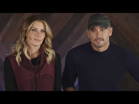 Tim McGraw and Faith Hill World Premiere Speak To A Girl With Us at 5p