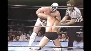 Mr Wrestling II vs Magnum T A  2