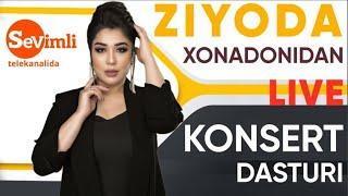 ZIYODA xonadonidan LIVE konsert dasturi! 2020