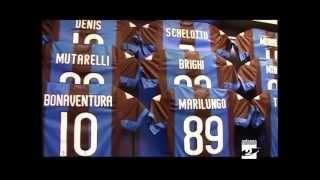 Atalanta presentata la nuova maglia Antenna 2 TV 05052012