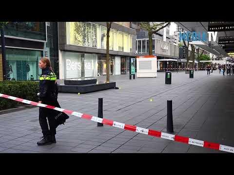 Man aangehouden na schietpartij Lijnbaan Rotterdam