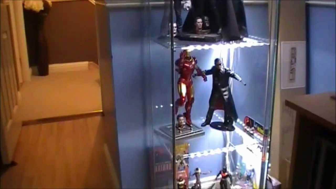 Hot Toys Collection With Lights Finally Set Up Youtube