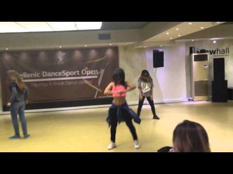 Hellenic dance sport open  Μαρια Καρκαλη