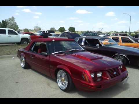 West Texas Finest Car Club in Midland TX Easter Bash 2012