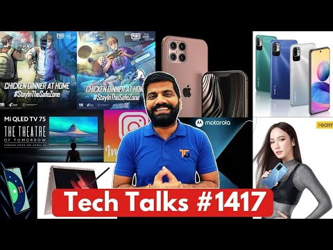Tech Talks #1417 – iPhone 48MP, PUBG & WHO, Galaxy S22 200MP, 8K Neo QLED, Poco 5G Phone, Xperia1III
