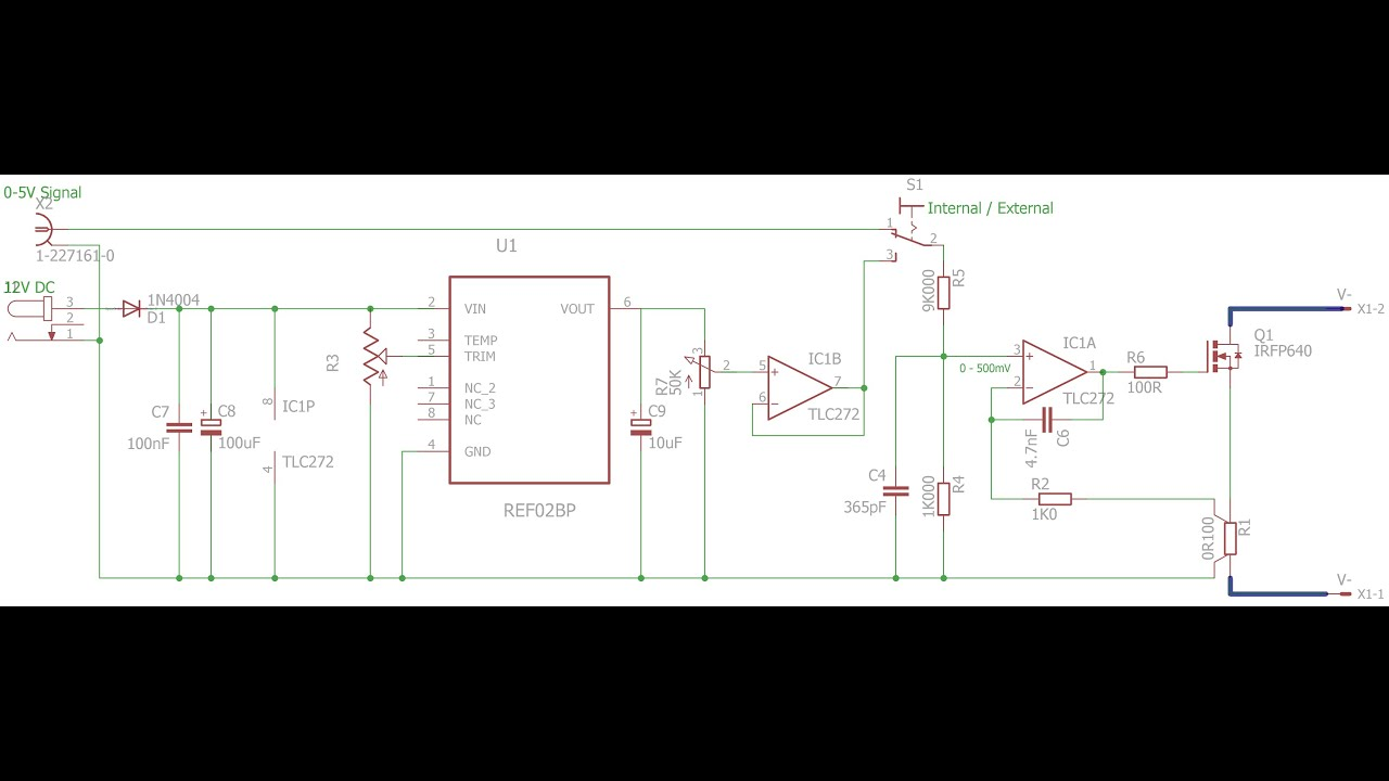 Electronic Dc Load Performance Improvements Youtube Simple Bird Sound Generator Circuit Diagram Electronica