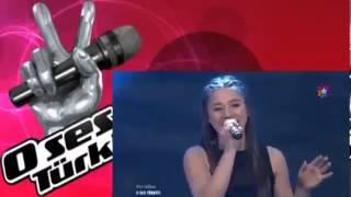 Melissa Aydin - HURT - O Ses Türkiye 2013
