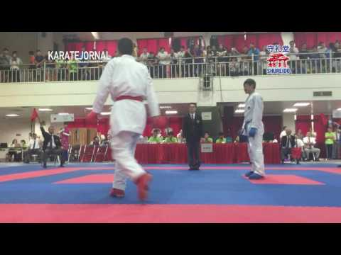 2016EAKF junior male -76kg Yusei sakiyama (JPN) vs Wu yu ming (TPE)