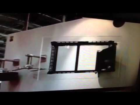 Angled tv wall mount how to wall mount a tv on an - Slanted wall tv mount ...