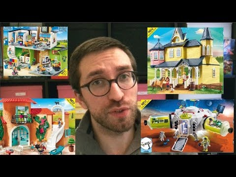 vlog 3 les nouveaut s playmobil 2019 youtube. Black Bedroom Furniture Sets. Home Design Ideas