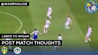 Wigan v Leeds | A SEA OF WHITE SHIRTS @wainmanjoe post match