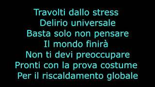 Fabio Rovazzi - Senza Pensieri ft. J-AX, Loredana Bertè (UN-Official Lyrics)