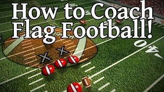 Flag Football Plays - How to Beat a Zone Defense! (video)