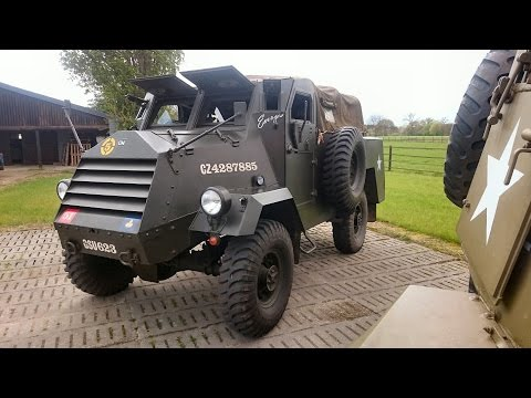TOP 10 - WWII Surviving Vehicles - The Canadian C15TA - Armoured Truck