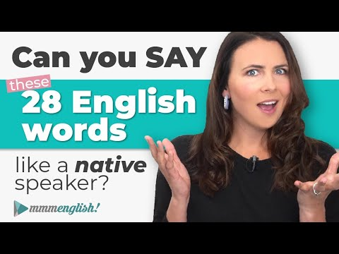 Pronounce English Words Correctly! SILENT SYLLABLES ??