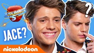 Is Jace Norman Smarter Than A 5th Grader?! 🍎 Ft. Brent Rivera, Lana Condor & MORE! | Nick