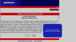 How To Subscribe to GMSI or TIS2WEB | ACDelco TechConnect