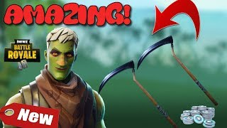 *NEW BRAINIAC SKIN AND REAPER AXE IS BACKKK AMAZING SET | FORTNITE BATTLE ROYALE !