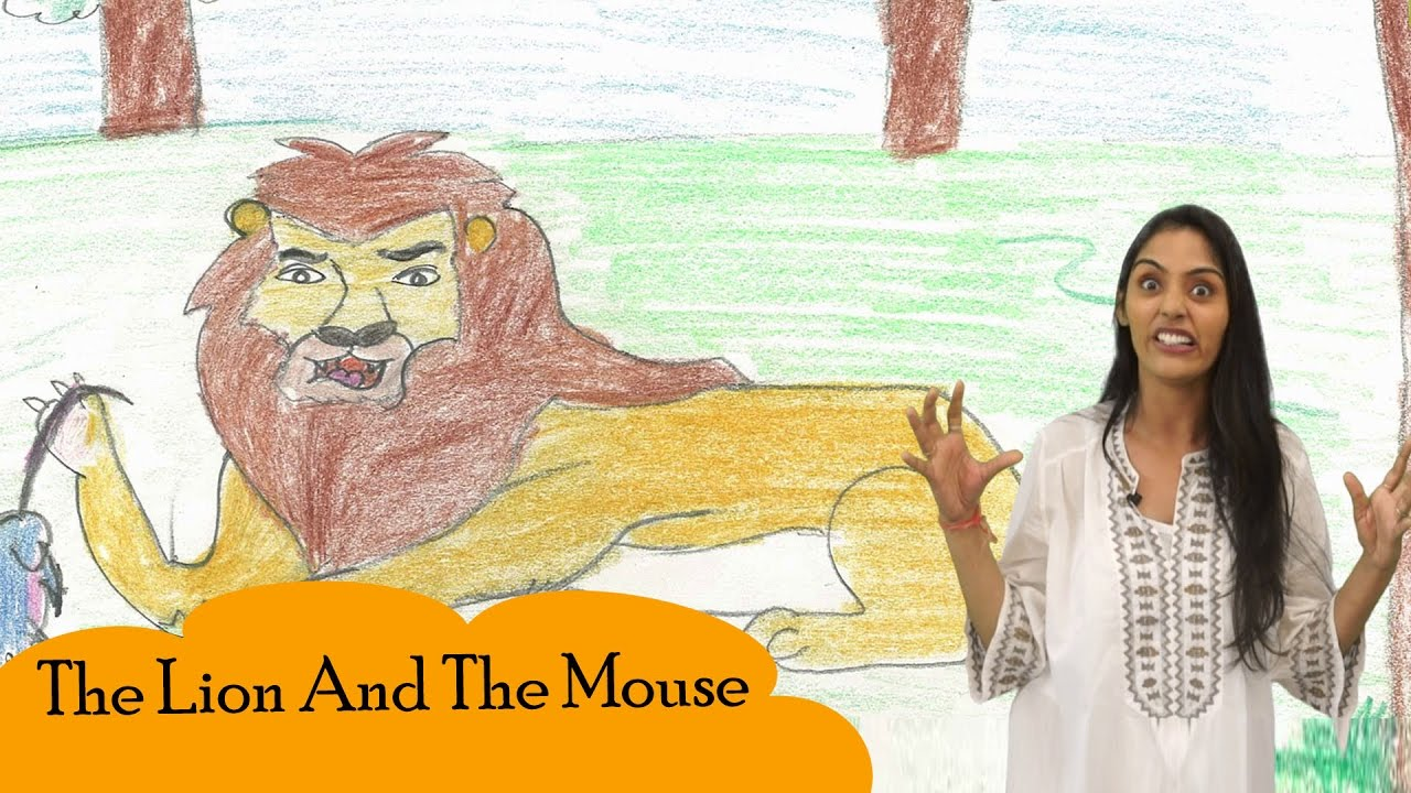 Stories For Kids | The Lion And The Mouse