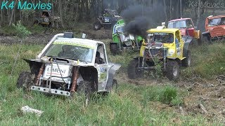 4x4 Off-Road vehicle mud, water race | Klaperjaht 2018