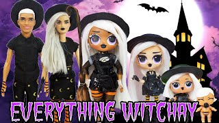 Everything Witchay Halloween Special Compilation Witchay Baybay OMG Doll Family DIY