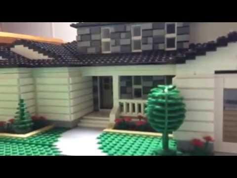 5 Bedroom 4 1 2 Bathroom Lego Suburban House Moc Youtube