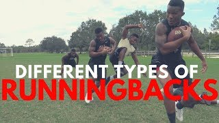 One of Deestroying's most viewed videos: THE DIFFERENT TYPES OF RUNNING BACKS..