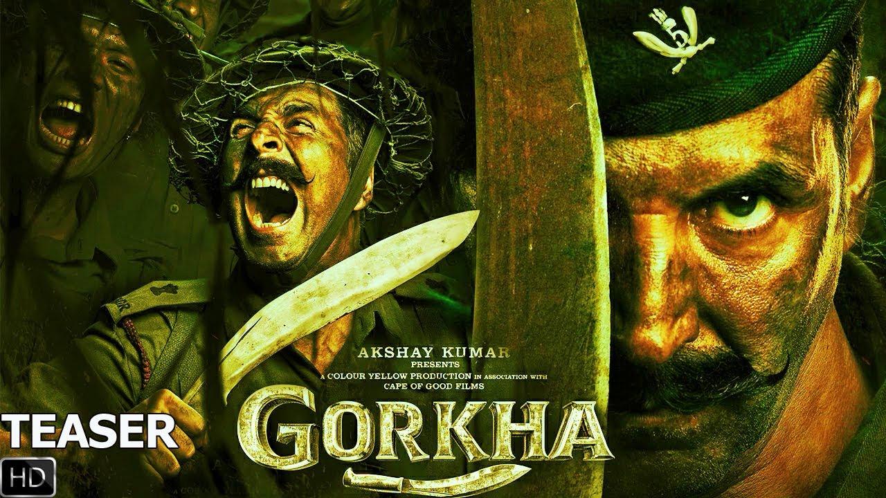 Gorkha Teaser  Akashy Kumar  Sanjay Puran Singh Aanand L Rai 2022