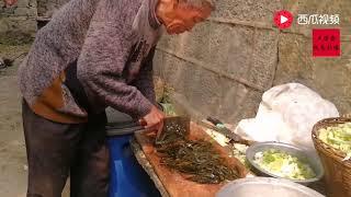 每年一次家族聚會,肉多菜多人也多,看看大鍋裡都放了些啥? 【卢保贵视觉影像】