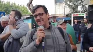 ROM CASAL BRUCIATO: VINCE CUORE ED UMANITA' - SCONFITTO RAZZISMO FASCISMO E NAZISMO