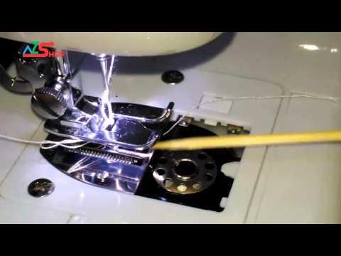 Sửa lỗi Máy may mini Không ăn chỉ Dưới - Lắp suốt chỉ dưới