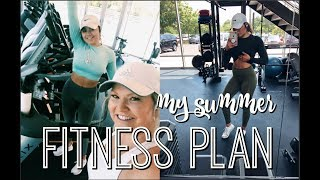 MY SUMMER FITNESS PLAN & GETTING EYELASH EXTENSIONS
