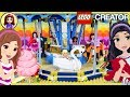 Lego Carousel Build the Animal Rides with Lego Friends Silly Play Kids Toys