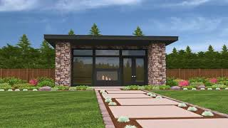 Tiny House Plans With Garage