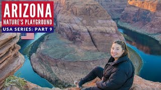 Instagram Heaven Arizona + Escaping Storm | First VANLIFE Experience USA | Brits in America Part 9
