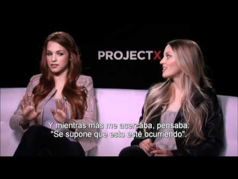 PROYECTO X - Entrevista con Kirby Bliss Blanton y Alexis Knapp - Oficial de Warner Bros. Pictures
