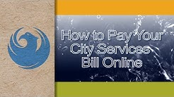 How to Pay Your Phoenix City Services Bill Online