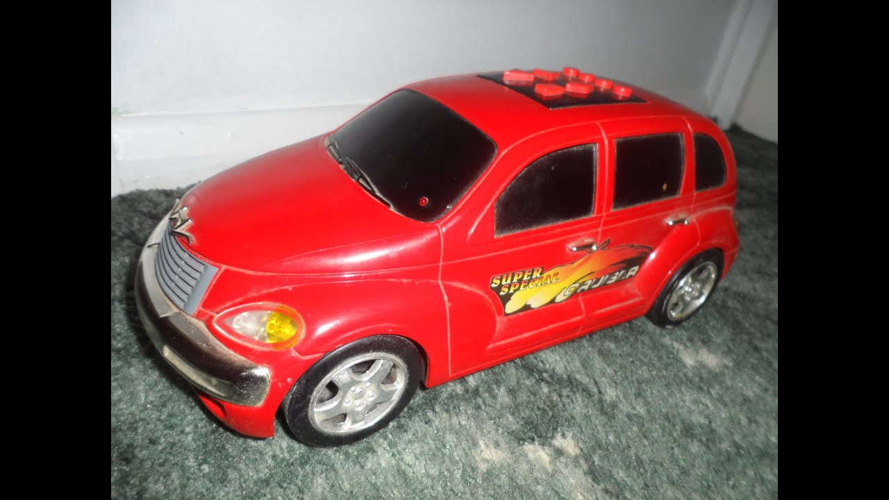 Red Chrysler Cruiser Toy With Car Alarm Function Music