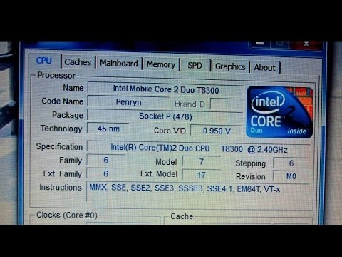 INTEL MOBILE CORE 2 DUO T8300 WINDOWS 10 DRIVER DOWNLOAD
