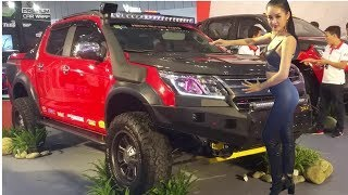 Chevrolet Colorado custom modified. Creative modification of Chevrolet Colorado. Chevrolet tuning