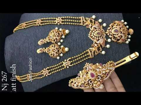 latest-designer-1-gram-gold-necklace-designs-2018