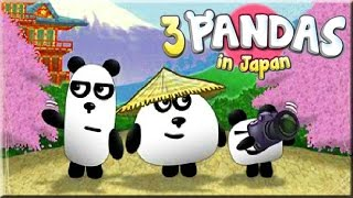 3 Pandas In Japan Game Walkthrough (All Levels)